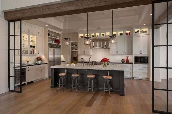 cool 47 Incredibly inspiring industrial style kitchens by http://www.best100-home-decor-pics.us/kitchen-designs/47-incredibly-inspiring-industrial-style-kitchens/