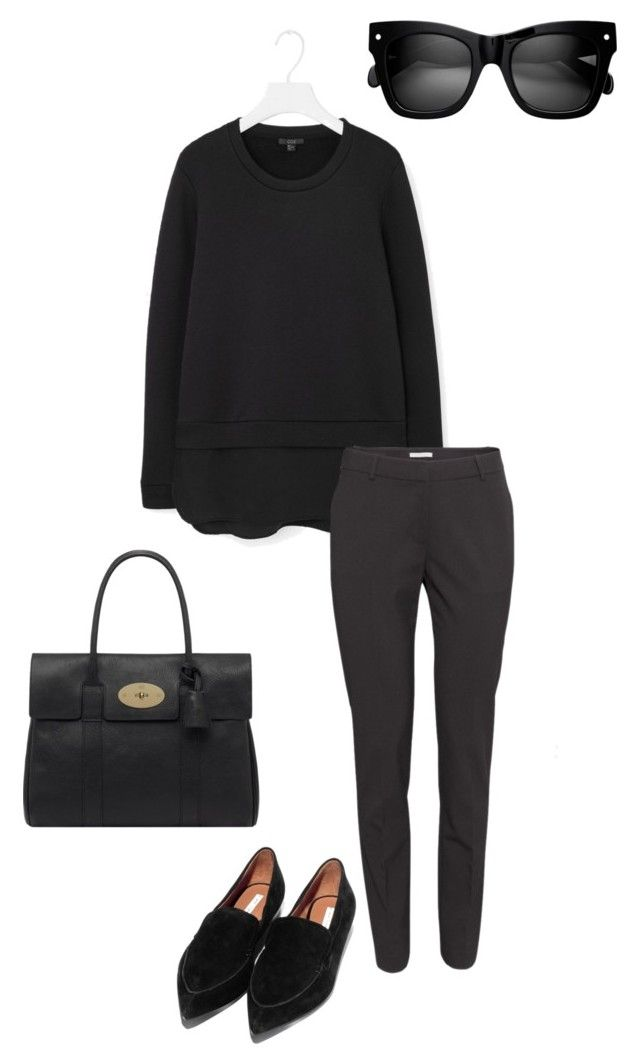 Untitled #175 by juliegodsknielsen on Polyvore featuring H&M and Mulberry