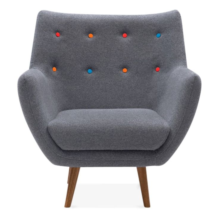 Chair: Poet Lounge Armchair - Cult Furniture