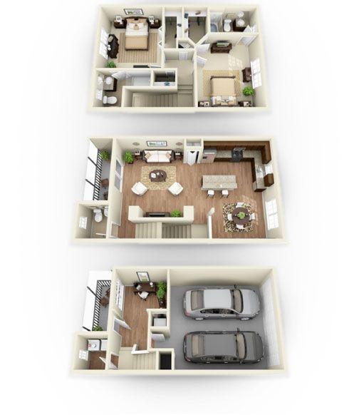 Luxury Apartments Condo Floor: 26 Best Townhouse Ideas Images On Pinterest