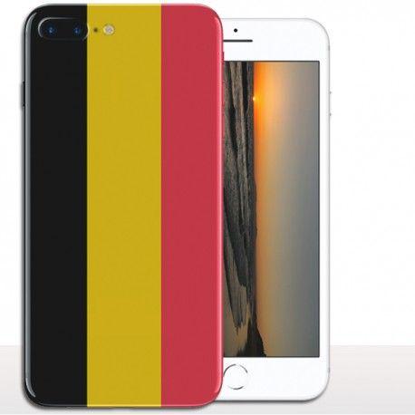#Coque drapeau Belge iPhone 8 plus