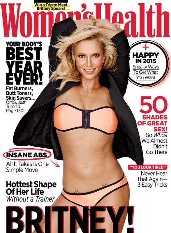 Britney Spears in pas de calais  Women's Health January/February 2015  Photo by: Jeff Lipsky http://www.womenshealthmag.com/life/britney-spears-cover