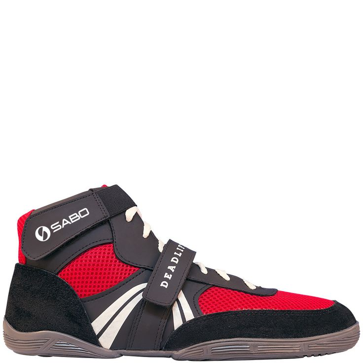 SABO Deadlift Lifting shoes - Red http://www.95gallery.com/