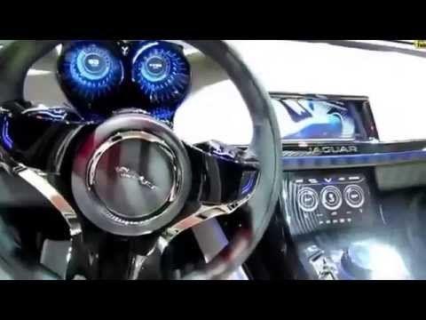 2015 Jaguar CX 17 Sport SUV Exterior and Interior Walkaround 2013 LA Auto Show - YouTube