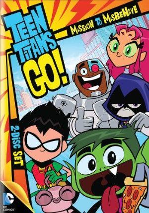 Teen Titans Go! Season 1 DVD Part 1: Mission to Misbehave (D)