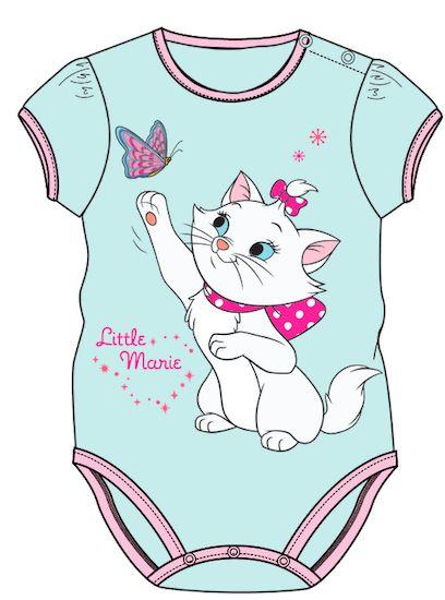 Kojenecké oblecenie - Disney, Mačička Marie  http://www.milinko-oblecenie.sk/detske-body-2/strana-5/ #kojeneckeoblecenie #kejeneckebody