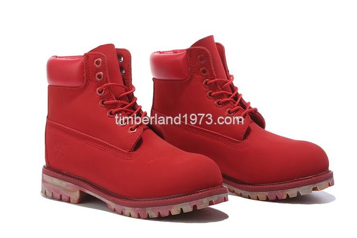 2017 Fashion Women's Timberland 6 Inch Boots Red $ 75.00