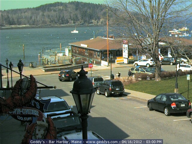 Bar Harbor Maine Webcam Click To See Live Image