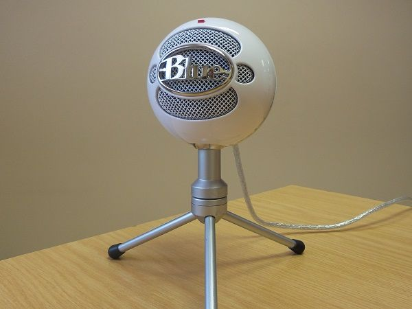 My new Microphone :) Blue Snowball Ice!
