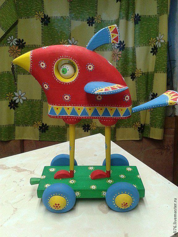 Купить Птичка счастья - птица, птичка, птица счастья, роспись, ключик, деревяный сувенир, подарок