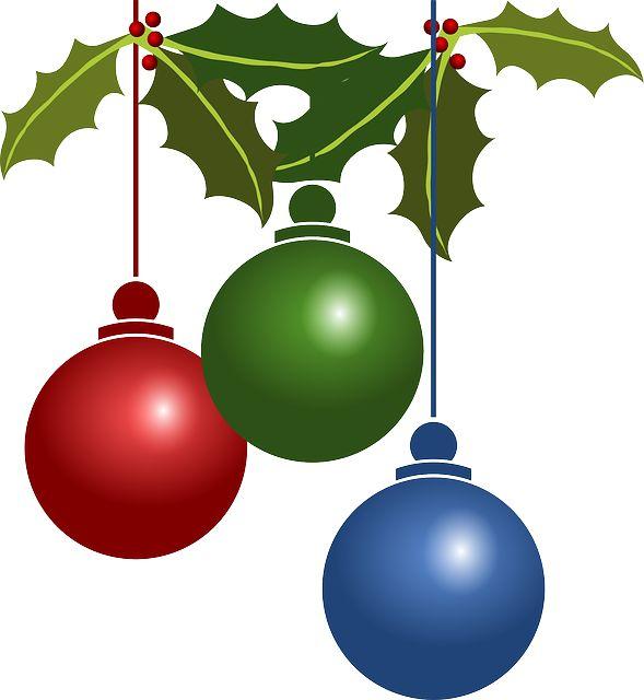 Decorações, Natal, Bolas, Ornamento, Decoração, Visco