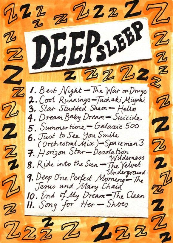 Friday Playlist: Deep Sleep, calming indie tunes via Rookie Mag