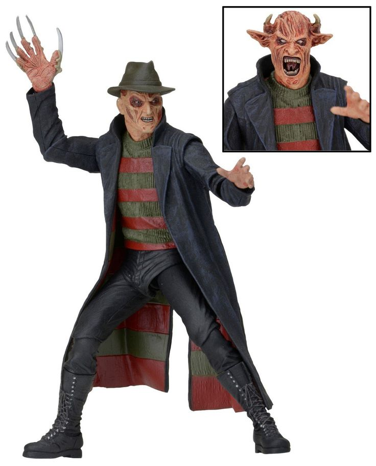 "Wes Craven's New Nightmare on Elm Street 7"" Scale Freddy Krueger Action Figure"