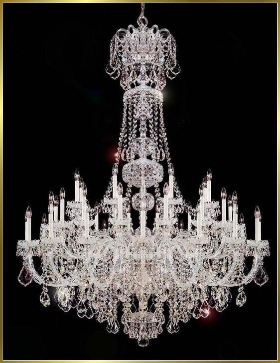 Light Performance Quality And Directly From China Pen For Pc Suppliers Modern Luxury Re Crystal Chandeliers Large Hotel