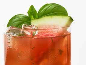 Basil Watermelon Cooler: Grey Goose Vodka, Basil Leaves, Peeled Ginger ...
