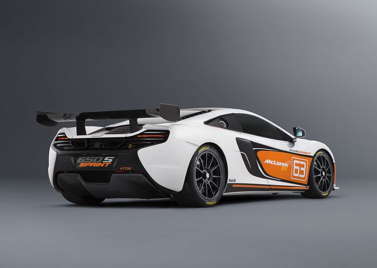 The first example of the 650S Sprint is shown with a new striking livery, in an  inverted color scheme of the 650S GT3 car shown at Goodwood Festival of Speed.