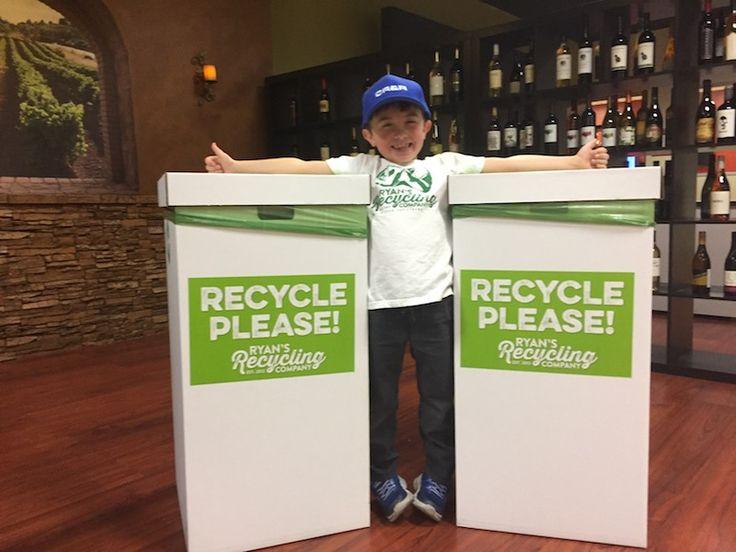 Un niño de 8 años crea negocio millonario al reciclar (Cootrama) @alvarodabril
