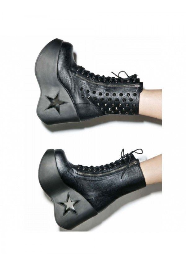 Demonia DYNAMITE-100 Boots Size 9 Women