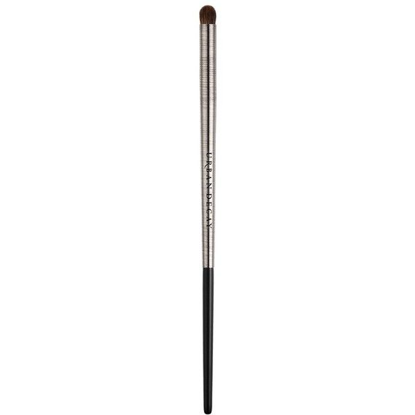 Urban Decay 'Pro' Smoky Smudger Brush ($27) ❤ liked on Polyvore featuring beauty products, makeup, makeup tools, makeup brushes, urban decay and urban decay makeup brushes