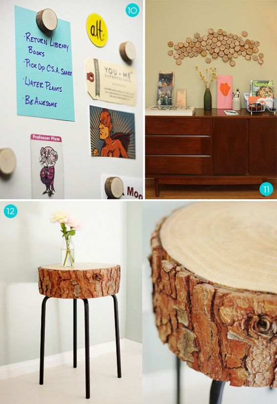 Things To Do With Wood Slices
