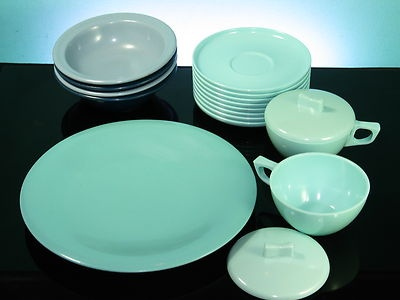 Russel Wright Aztec Sun-Valley Melmac Melamine Retro 1950\u0027s Tableware #vintage #plastics # & 29 best Mid-Century Dinnerware images on Pinterest | Dinner ware ...