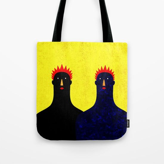Same but different Tote Bag by Inmyfantasia