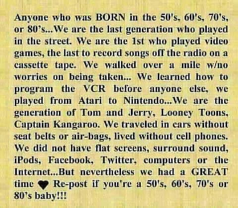 I can relate to everything mentioned! :-)