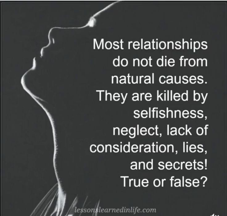 Image result for most relationships do not die from natural causes