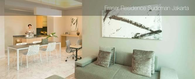 Jarkarta Travel Information: Fraser Residence Sudirman Jakarta   Location
