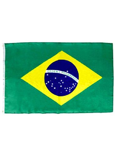 Flagge Brasilien Fussball Fanartikel grün-gelb 90x150cm   Your #1 Source for Toys and Games