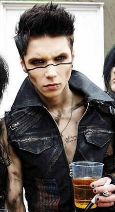 andy biersack short hair style - Google Search