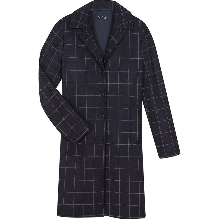 manteau taylor bleu winter 2016-17