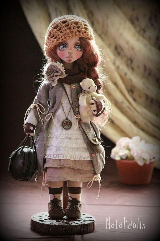 Мэгги. Кукла от Natalidolls (Наталья Подкидышева)