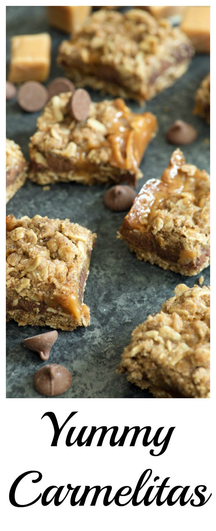Make a batch of Carmelitas to take back to school and your college student will be singing your praises after a few weeks of dorm food. Yummy caramel with chocolate chips and some oatmeal to hold it all together, and of course some browned butter. |butterandbaggage.com #yum #recipeoftheday #dessert