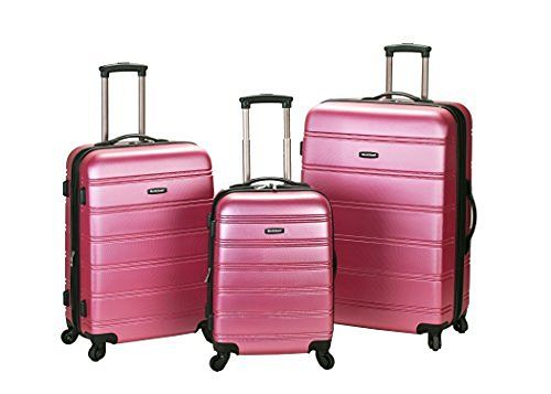 Rockland Luggage Melbourne Piece Medium | Rockland Luggage Melbourne 3 Piece Abs Luggage Set Pink Medium Rockland Luggage Melbourne Piece Medium is a top pick of a deal among the best selling products online in Luggage category in USA. Click below to see its Availability and Price in your country.