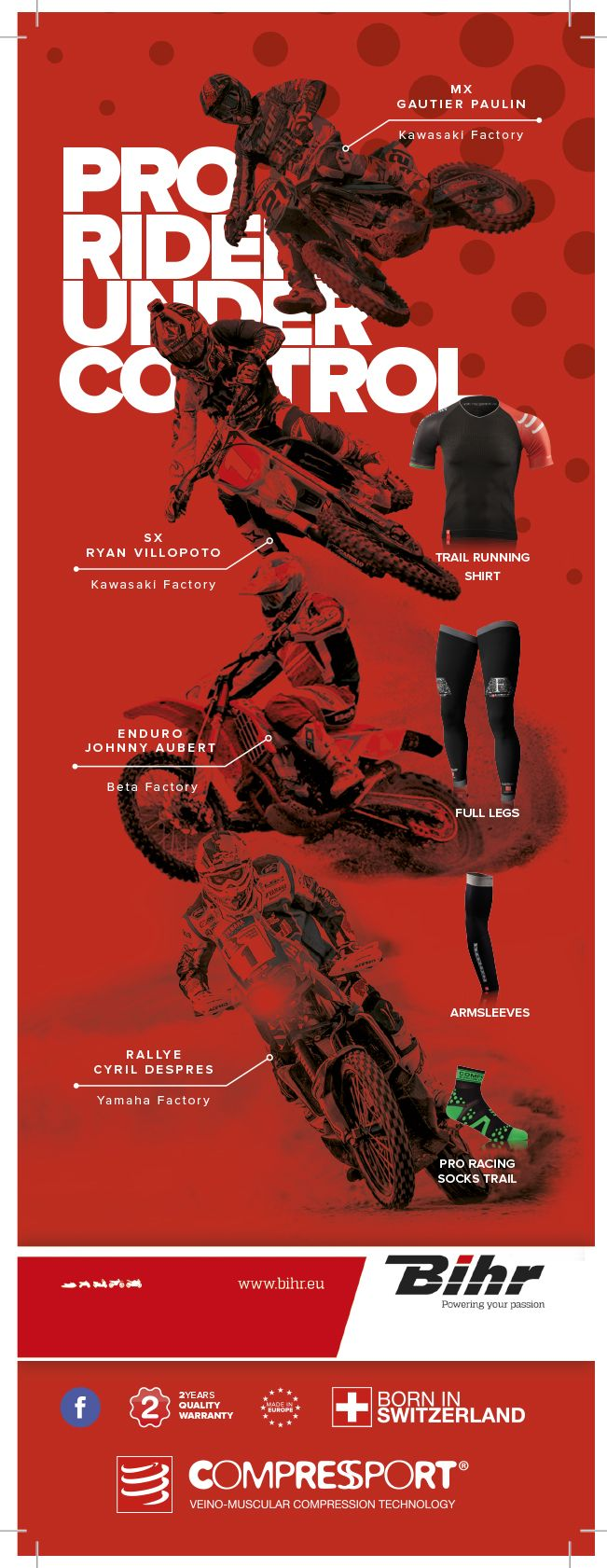 Multisport - Compressioin range - Athletes + Products
