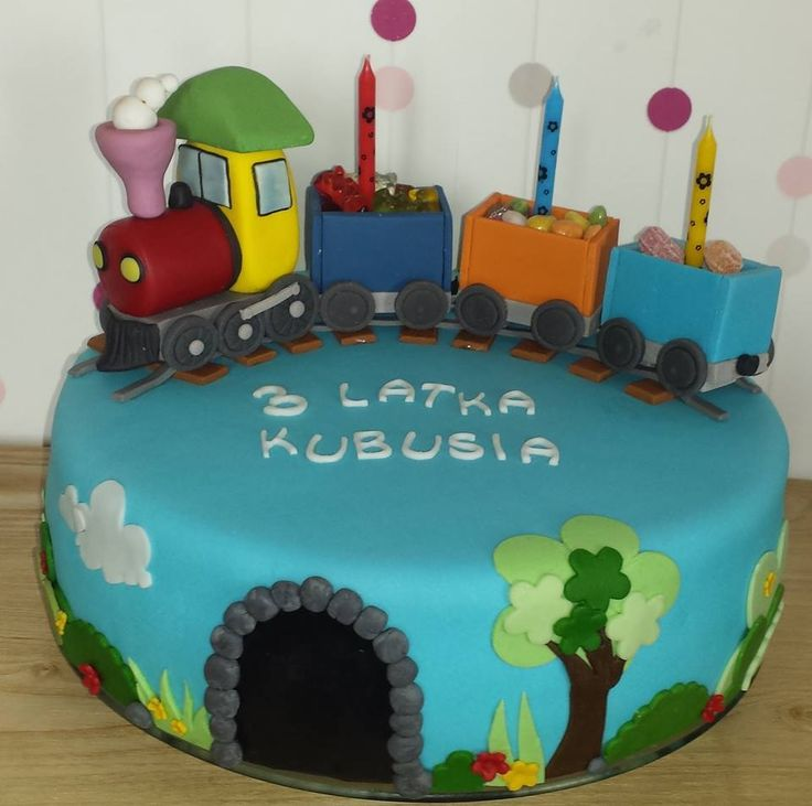 Tort ciuchcia/ Train cake