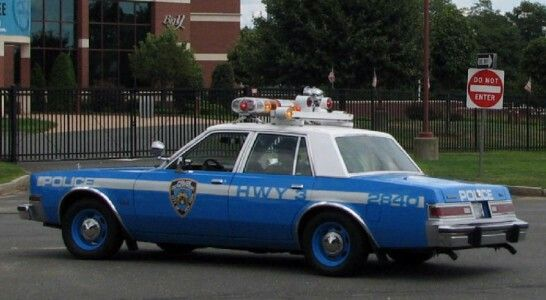 Nypd Hwy 3 2840 Dodge Diplomat Classic Police Cars Pinterest