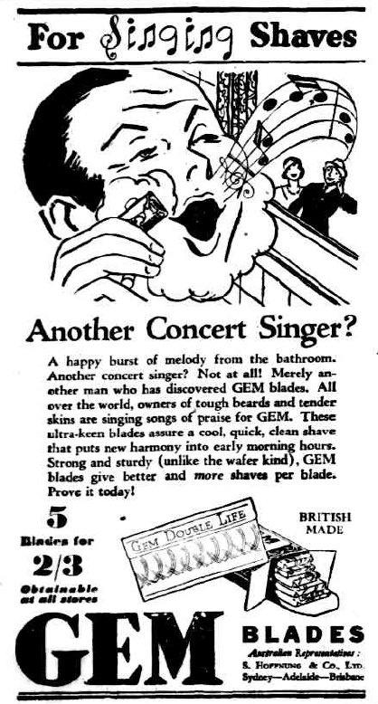 ~ The Advertiser, Adelaide, South Australia; Monday, October 5, 1931