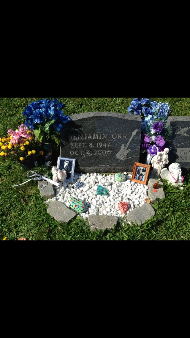 Benjamin Orr I Visited The Grave In October 2013 Billie F