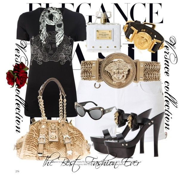 """Versace collection"" by mtmariannat on Polyvore"