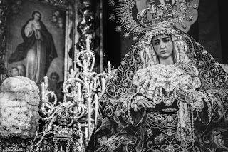 María Stma. de la Hiniesta. (Hdad. de la Hiniesta, Sevilla).