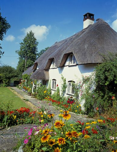 382 Best Thatched Cottages Amp Paintings Images On Pinterest