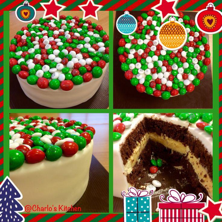 M&M simpel cake