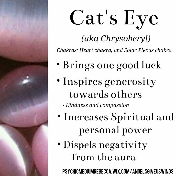 Cat's Eye crystal meaning