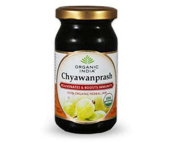 Rejuvenate and boost your immunity with Organic India's Chyawanprash, one of the best sources of Ayurvedic rasayana.