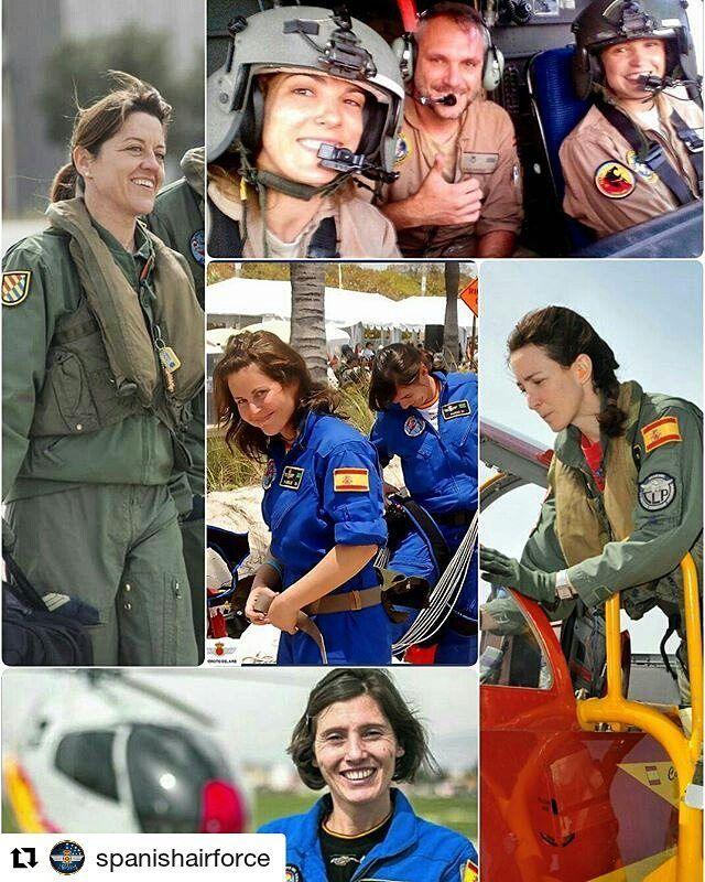 #Repost @spanishairforce  Feliz Día Internacional de la Mujer! Felicidades aviadoras!  El Ejército español abrió sus puertas a las mujeres en 1988. En la actualidad en torno al 125% de los efectivos de las Fuerzas Armadas son mujeres aumentando hasta el 136% en el @ejercitoaire_defensagob.  Cada día son más las mujeres que forman parte del Ejército del Aire ya sean Oficiales Suboficiales o Tropa desempeñando diferentes trabajos (pilotos mecánicos de vuelo paracaidistas...) imprescindibles…