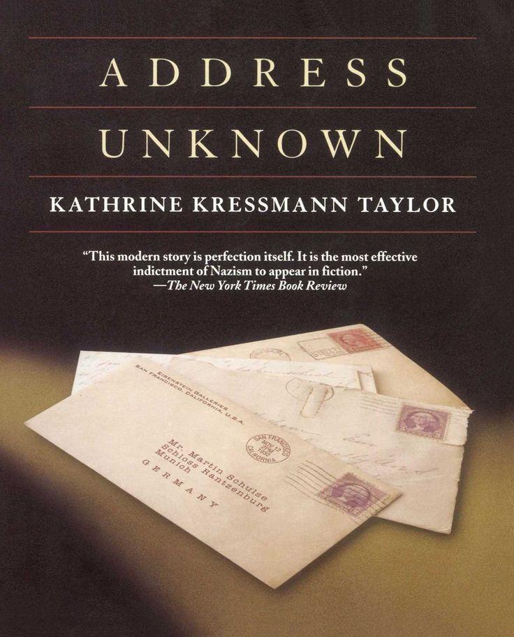 Review of Kressmann Taylor: Address Unknown