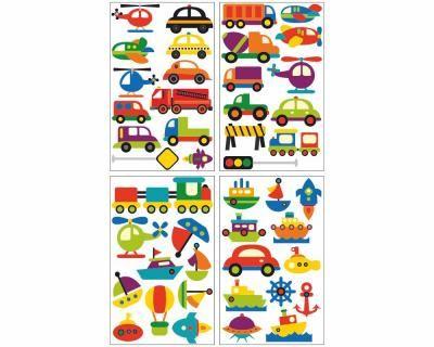Simple  teiliges Verschiedene Fahrzeuge Set Wandtattoo Verschiedene Fahrzeuge Wandtattoo Set