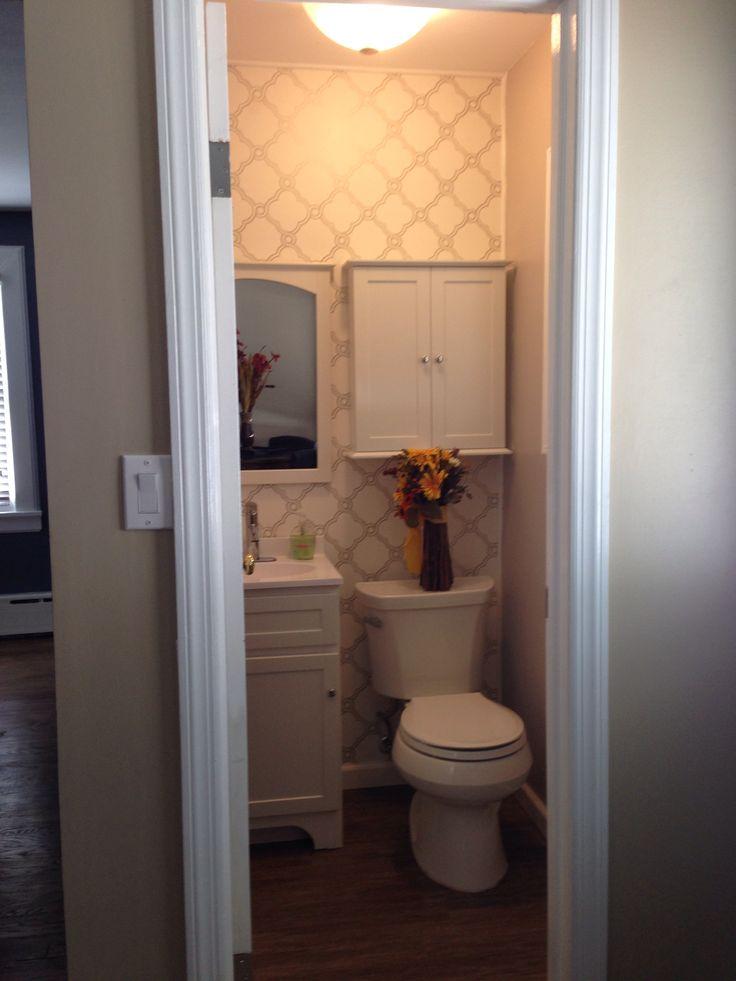 86 best 1 2 bathroom ideas our diy images on pinterest - 1 2 bath ideas ...
